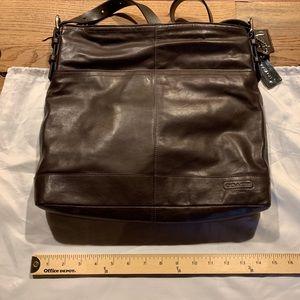 Coach Crossbody Leather Satchel / Purse (70225)